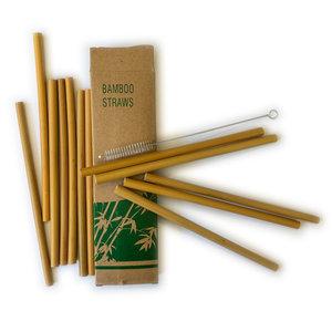 DHgate Bamboo Straws | 13pc