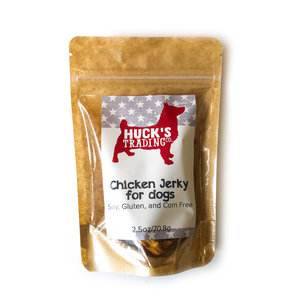 Huck's Trading Company Dog Treats | Chicken Jerky