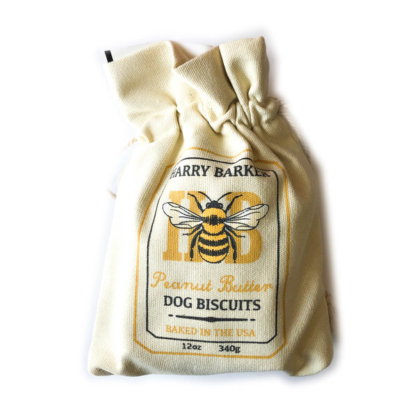Harry Barker Dog Treats | Bag | Honey Bee
