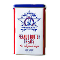Harry Barker Dog Treats   Canines for Vets   Peanut Butter