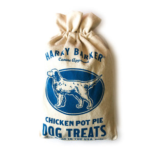 Harry Barker Dog Treats | Camper Blue | Chicken Pot Pie