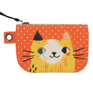 Now Designs Zip Pouch | Small | Meow Meow