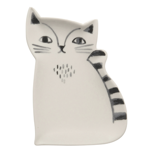 Now Designs Trinket Tray | Ceramic Cat