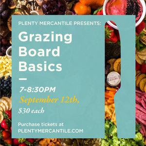 PLENTY Grazing Board Basics [Sept 12]