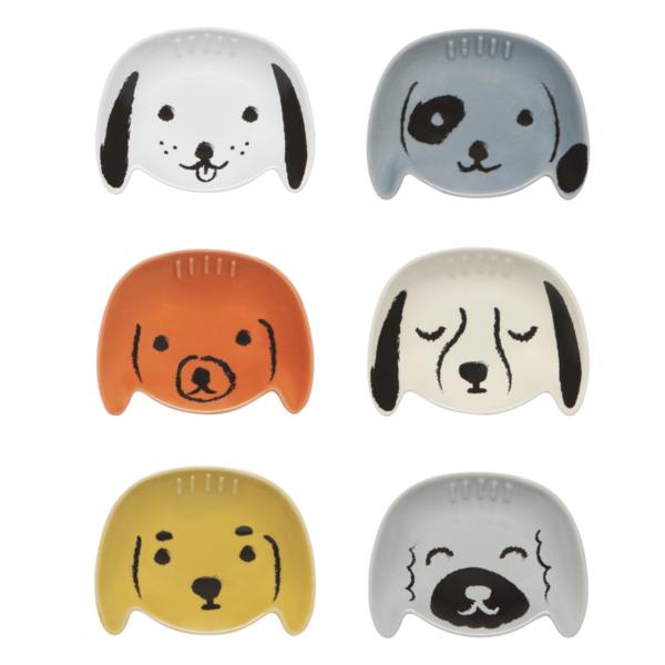 Pinch Bowls | Puppy Love | Set/6
