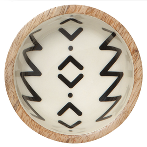 Now Designs Bowl | Mango Wood | Mini Ziggy