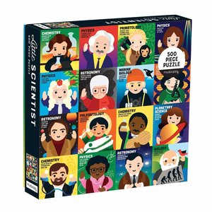 Chronicle Books Puzzle | 500pc | Little Scientists