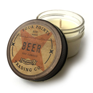 Four Points Trading Company Candle | Beer