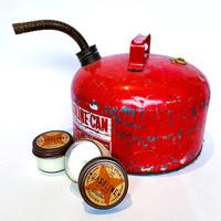 Four Points Trading Company Candle   Nostalgia   Gasoline