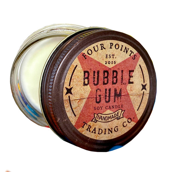Four Points Trading Company Candle | Nostalgia | Bubble Gum