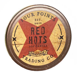 Four Points Trading Company Candle | Red Hots