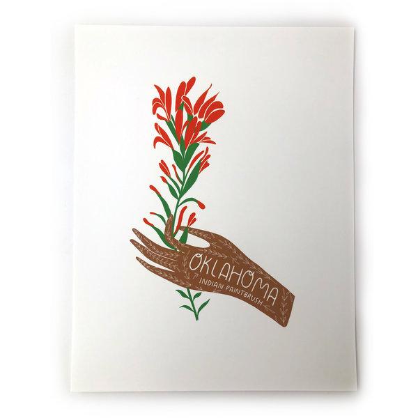 Art Print | OK State Flower | 8x10