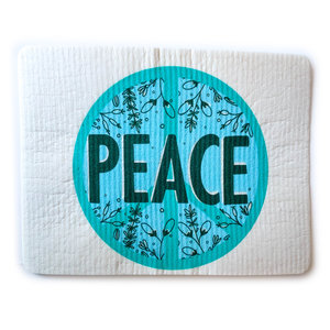 Plenty Made Hydro Swedish Dish Cloth | Peace