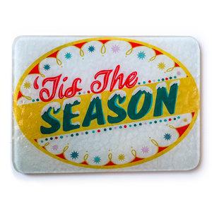 Plenty Made Glass Cutting Board | Tis The Season