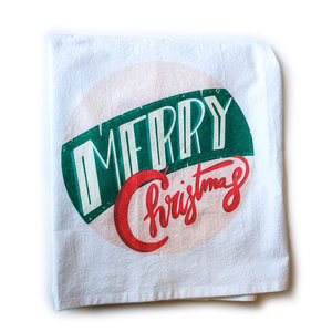 Plenty Made Tea Towel | Merry Christmas