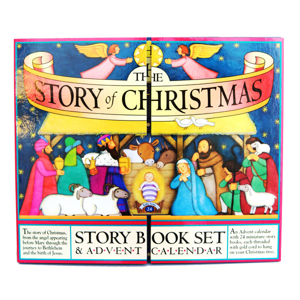 Workman Publishing Advent Book Set | The Story of Christmas