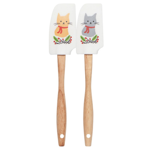 Now Designs Spatula | Mini Set/2 | Jingle Cat