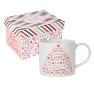 Now Designs Boxed Mug | Merry Little Christmas