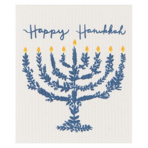 Now Designs Swedish Dishcloth | Happy Hanukkah