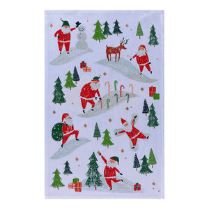 Now Designs Tea Towel | Must Be Santa