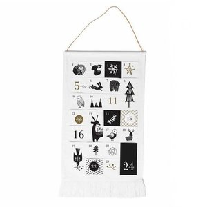 Wee Gallery Advent Calendar | Black & White Cloth