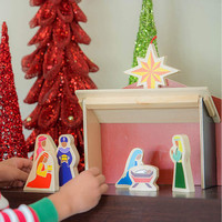 Star Kids Company Nativity Set   The Christmas Star From Afar