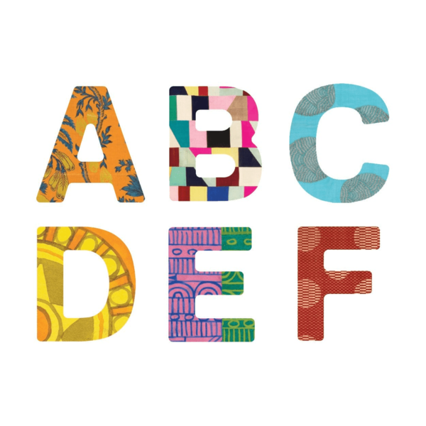 Chronicle Books Magnetic Wood Letters | Cooper Hewitt