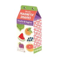 Chronicle Books Magnetic Wood Shapes   Fruits & Veggies