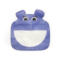 Kikkerland Zipper Bag | Set of 3 | Hippo