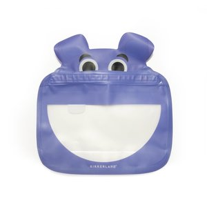 Kikkerland Zipper Bag | Set of 3 | Hippo