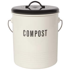 Now Designs Compost Bin | Vintage