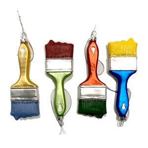 One Hundred 80 Degrees Ornament | Glass | Paint Brush