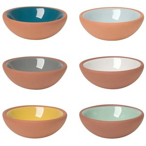 Now Designs Pinch Bowls | Terracotta | Set/6