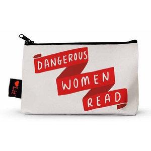 Gibbs Smith Zip Pouch | Dangerous Women Read