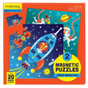Chronicle Books Puzzle | 20PC | Magnetic Outer Space