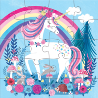 Chronicle Books Puzzle | 20PC | Magnetic Magical Unicorn