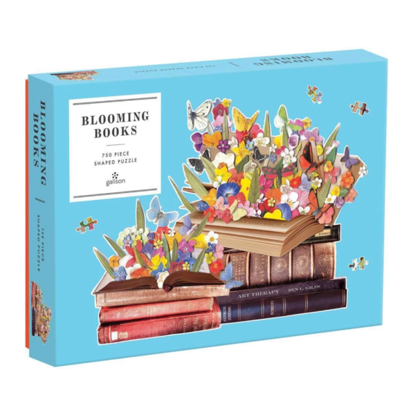 Chronicle Books Puzzle | 750pc Shaped | Blooming Books