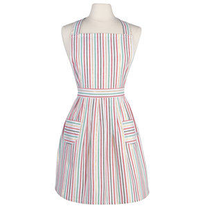 Now Designs Apron | North Pole Stripe