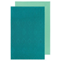 Tea Towel | Set/2 | Mosaic Peacock
