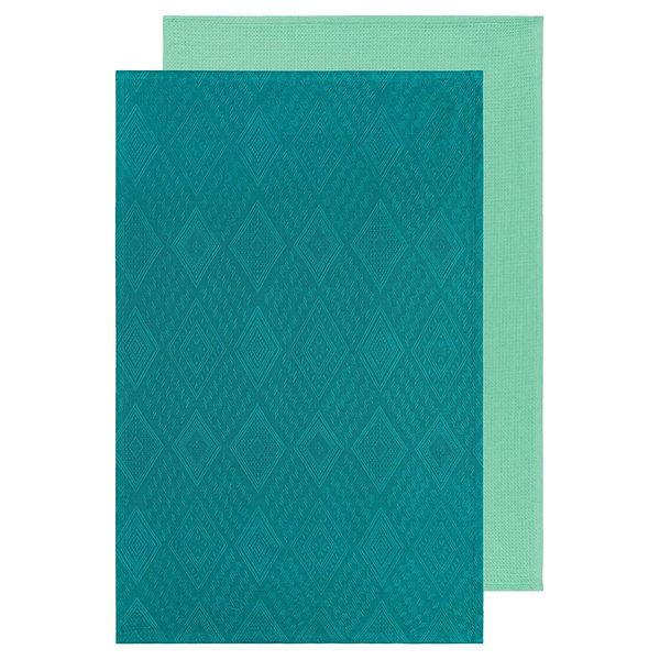 Now Designs Tea Towel | Set/2 | Mosaic Peacock