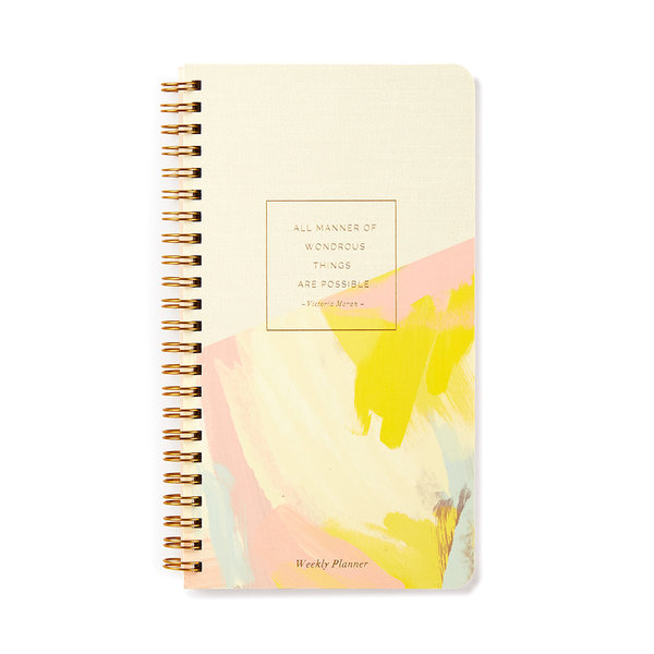 Weekly Planner | Wondrous Things Are Possible