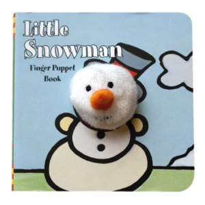 Chronicle Books Board Book | Finger Puppet | Little Snowman