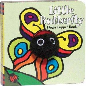 Chronicle Books Board Book | Finger Puppet | Little Butterfly