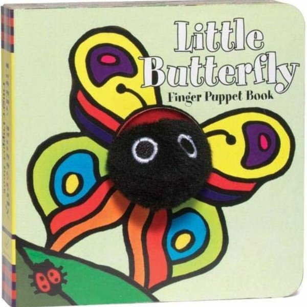 Chronicle Books Board Book | Finger Puppet | Little Butterfly