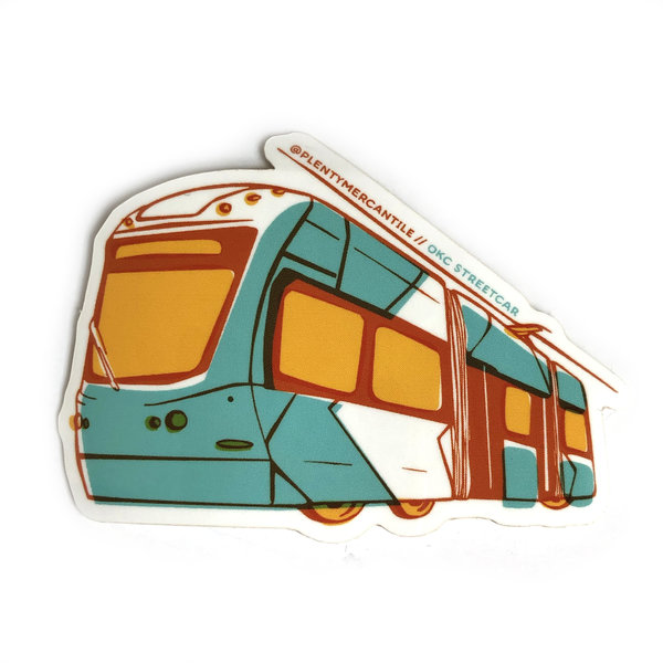 Plenty Made Sticker | Streetcar