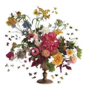 Chronicle Books Puzzle | 750PC Bouquet | Ashley Woodson Bailey