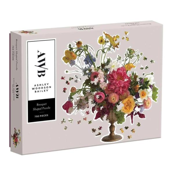 Chronicle Books Puzzle | 750PC Bouquet | Ashley Woodson Bailey