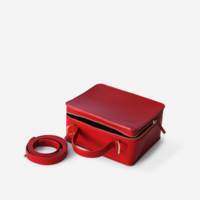Minor History Bag | Box Crossbody | Cherry
