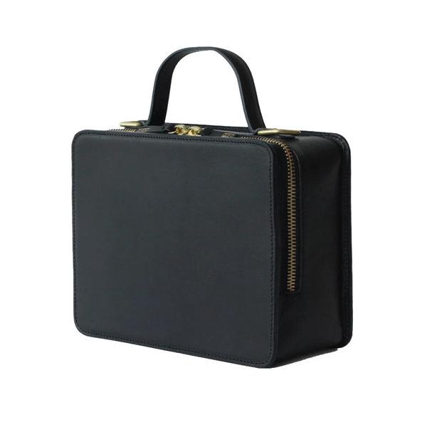 Minor History Bag | Box Crossbody | Black