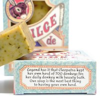 Dulce De Donke Soap | Donkey Milk | Rosemary Mint